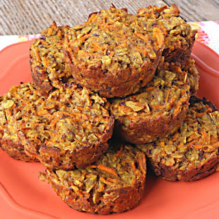 Carrot Cake Baked Oatmeal Cups.