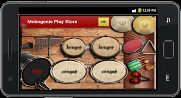 Screenshot of Percussion Instrument
