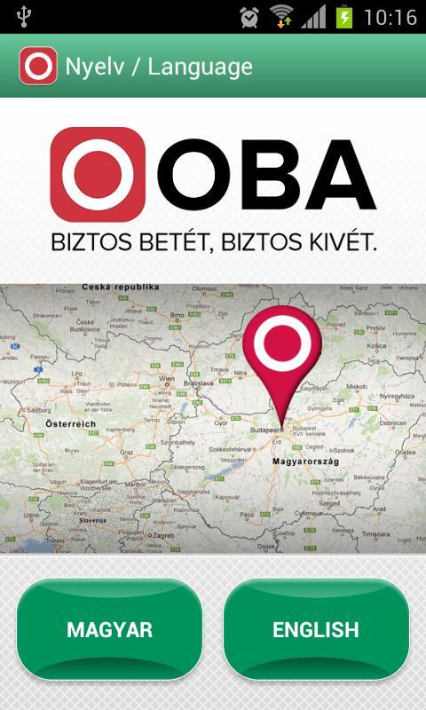 OBA Betétőr- screenshot
