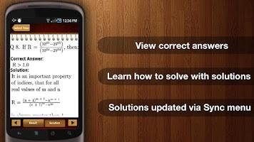 Screenshot of CAT Exam MBA - Pocket Exam