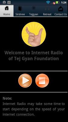 TGF Internet Radio - screenshot