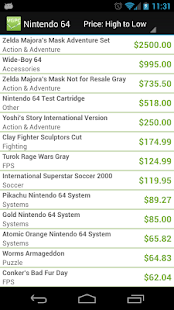Video game price charts android apps on google play