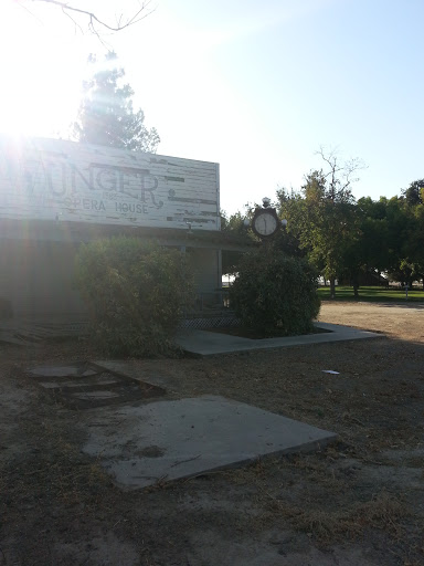 Unger Opera House Clock Portal in Selma California United