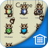 Owl Coffee Bean Wallpaper