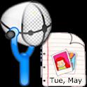 Voice Diary (Record Life) logo