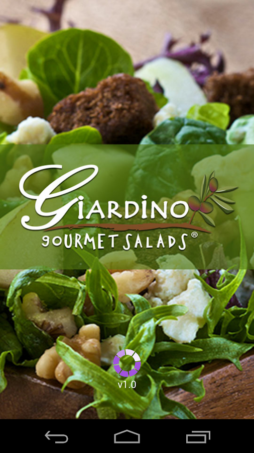 Giardino Salads- screenshot