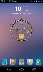 Super Clock Widget Full - screenshot thumbnail