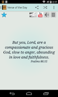 Screenshot of Bible Daily Verses & Devotions