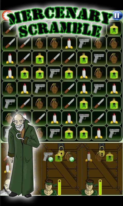 Mercenary Scramble- screenshot