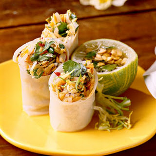 Summer Rolls With Thai Dipping Sauce.