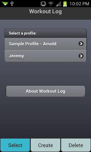 Workout Log Basic