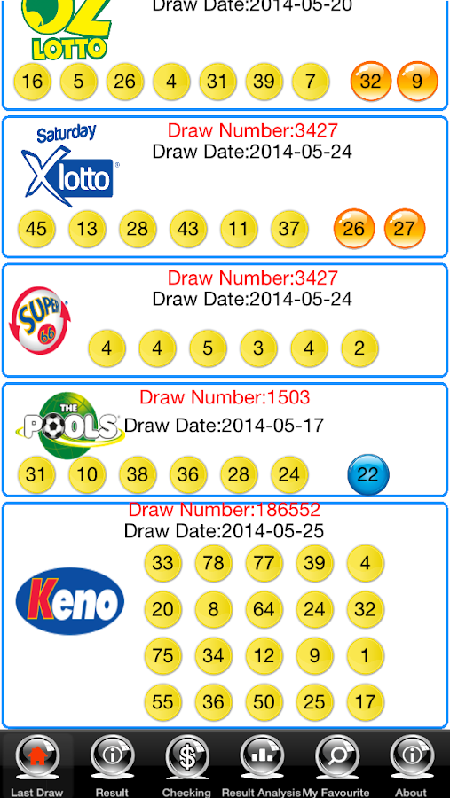 Check OZLotto Pools Free- screenshot