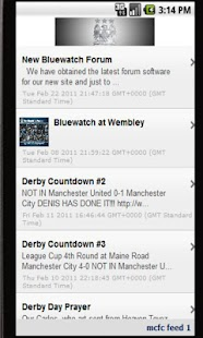MCFC News - screenshot thumbnail