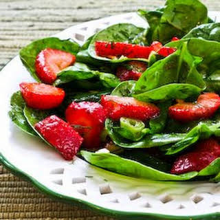 Strawberry Spinach Salad.