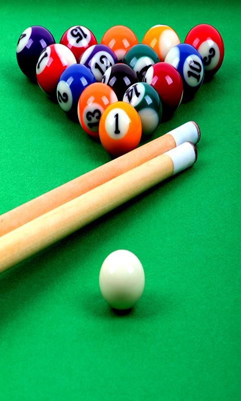 Billiards live wallpaper - screenshot