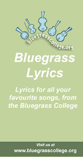 Bluegrass Song Lyrics - screenshot thumbnail