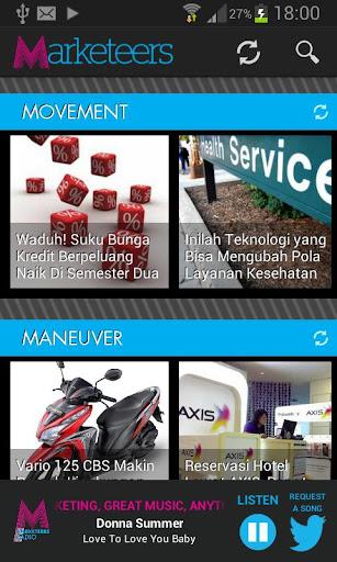 Marketeers App