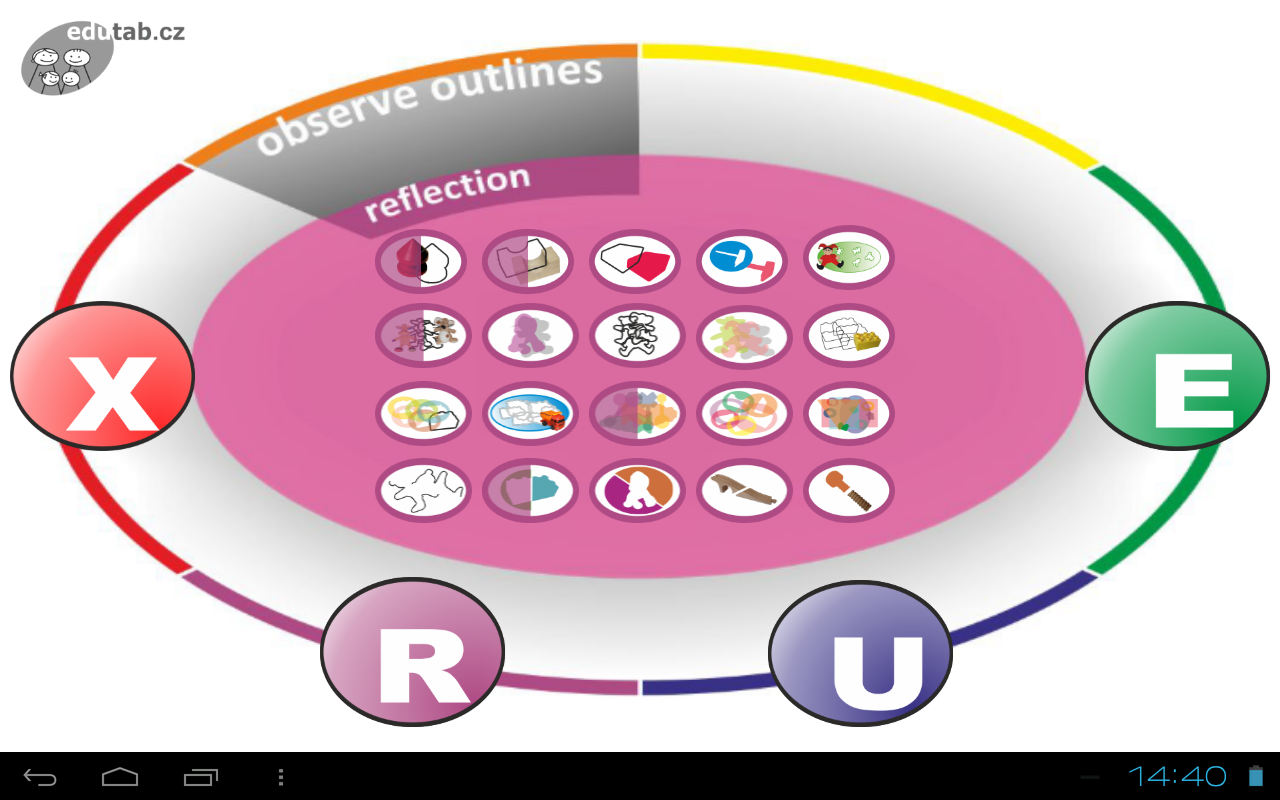 Observe Outlines for kids FREE- screenshot