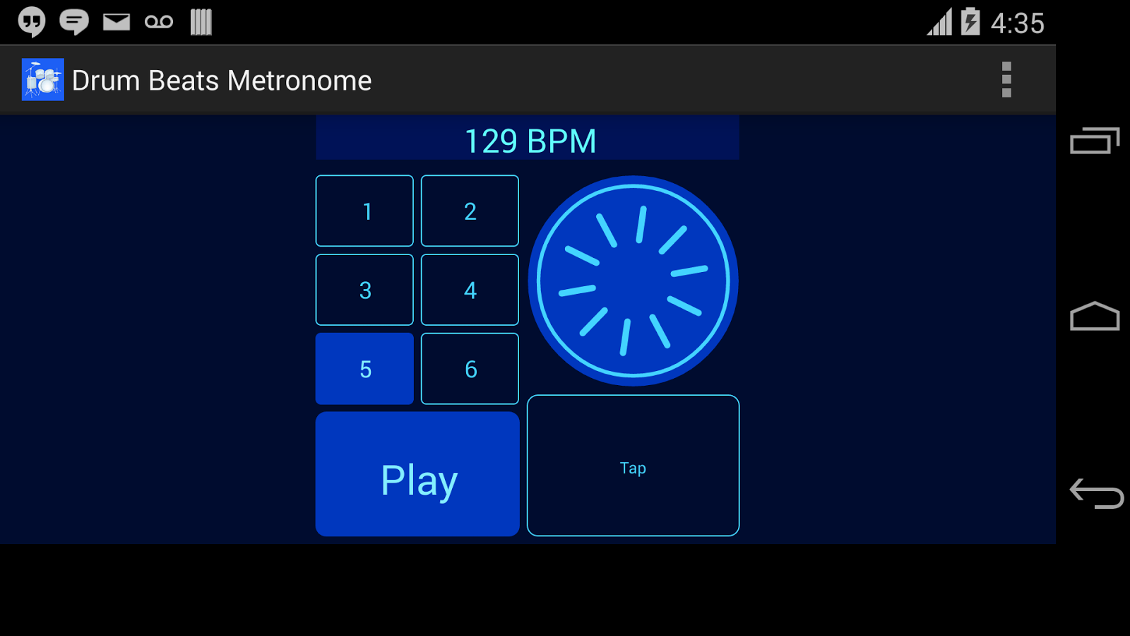 Drum Beats Metronome- screenshot