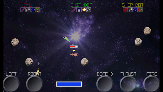 Head2Head Angry Space Defender- screenshot thumbnail