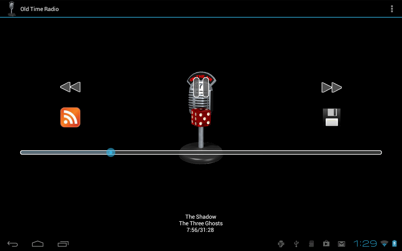 Old Time Radio Player - screenshot