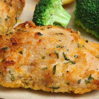 Juicy Faux Fried Chicken.