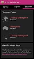 Screenshot of Field Guide Queensland Fauna