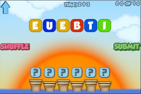 Scrambled Words Game! - screenshot
