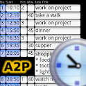 A2P Day Agenda Time Table Plan logo