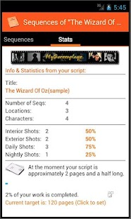 MyScreenplays Pro - screenshot thumbnail
