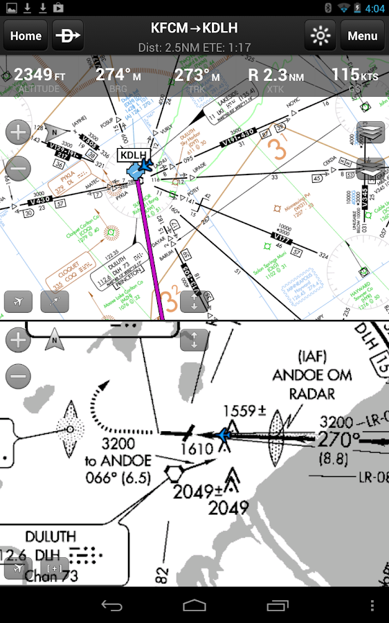 Garmin Pilot - screenshot