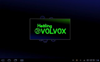 Screenshot of Healing VOLVOX +LiveWallpaper