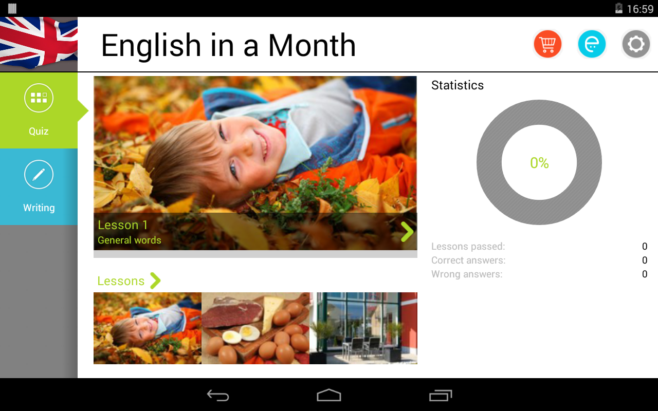 English in a Month Free - screenshot