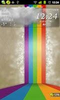 Screenshot of 墨迹天气插件皮肤IC5 M2 透明背景版