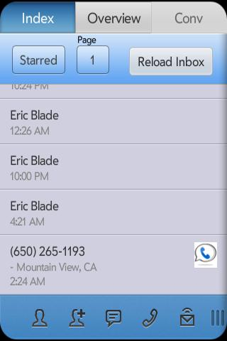 SynerGV- Google Voice™ SMS/Mgr- screenshot