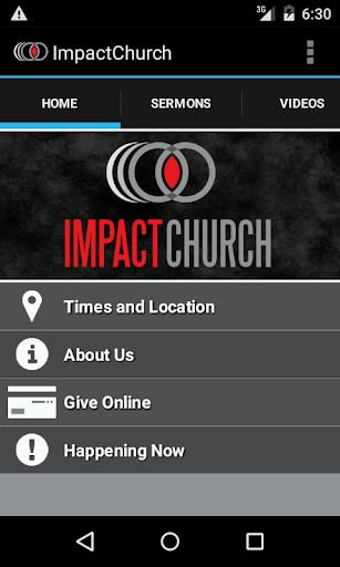 The Impact Church App