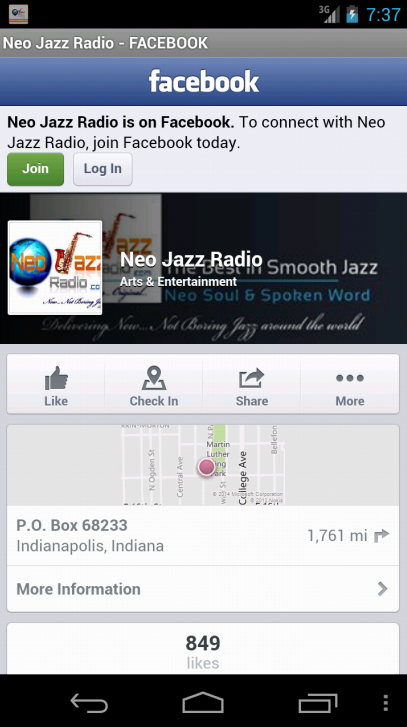 Neo Jazz Radio- screenshot