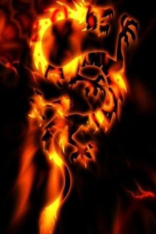 3D fire Dragon 1 - screenshot