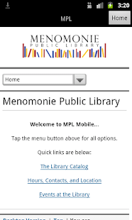 Menomonie Public Library - screenshot thumbnail