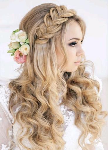 女性のヘアスタイル