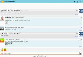 Screenshot of Keypa Data Safe and Messenger