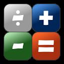 Simple Calculator mobile app icon