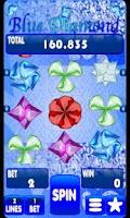 Screenshot of Blue Diamond Slot Machine