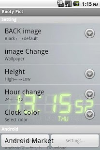 DIGI-CLOCK LiveWallpaper Trial- screenshot thumbnail