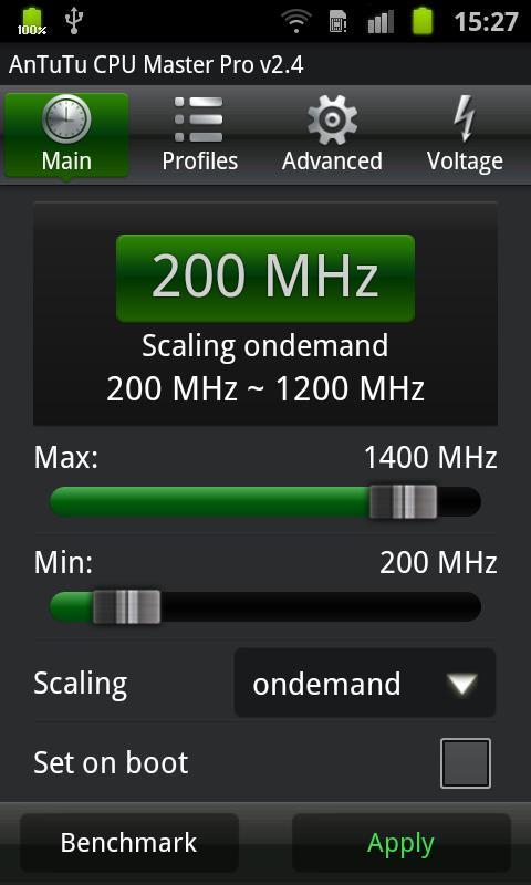 AnTuTu CPU Master Pro Screenshot