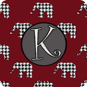 Football Monogram K Live WP