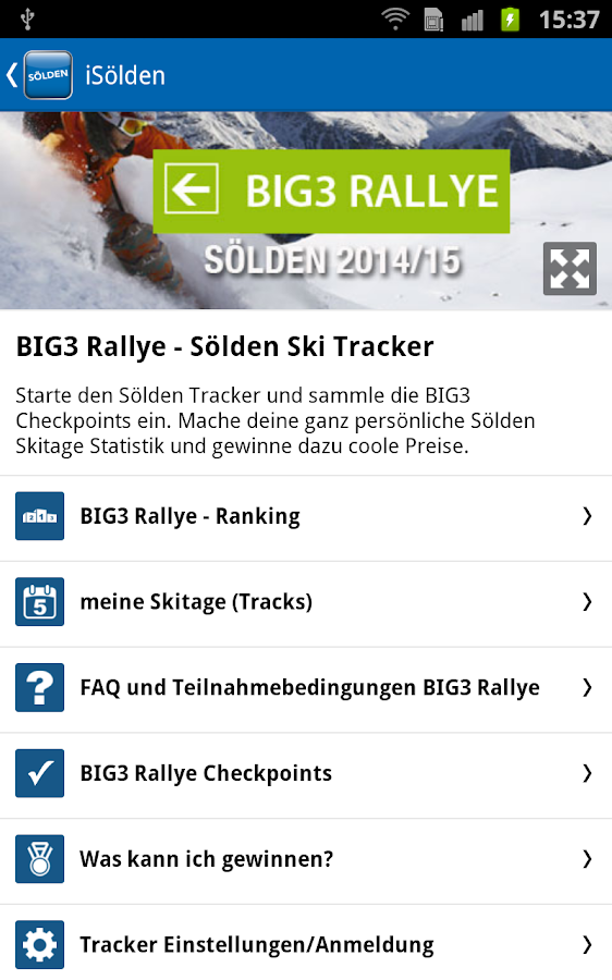 Sölden - iSölden- screenshot