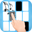 Piano Tiled - Tap black tiles icon