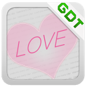 Puppy Love GO Getjar Theme icon