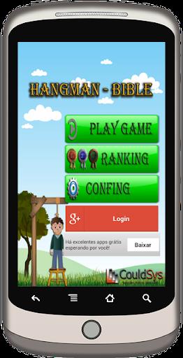 Hangman Game Bible
